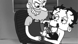 Betty Boop skull fucked by old man