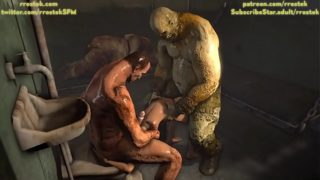Lara Croft fucked brutally in Prison 3D Parody Animation