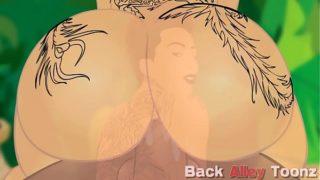 Bella Bellz big ass pawg cartoon backalleytoonzonline.com